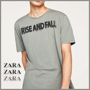 Zara Man Graphic Tee
